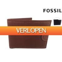 iBOOD Sports & Fashion: Fossil leren portemonnee