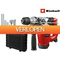 iBOOD DIY: Einhell 1250 W boorhamer en accessoire kit