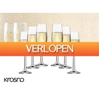 DealDonkey.com 4: Krosno Pure Collection champagneglazen