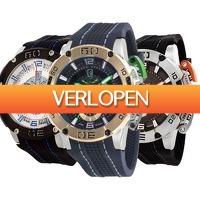 Watch2day.nl: ISW Sports Carbon Fiber Chronographs horloge