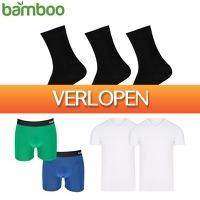 Elkedagietsleuks HomeandLive: Bamboo T-shirts en boxershorts