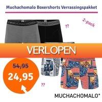 1dagactie.nl: 4-pack Muchachomalo boxershorts