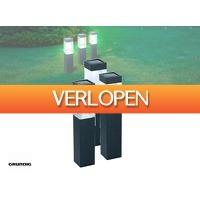 DealDonkey.com 2: 3 x Grundig solar tuinlampen