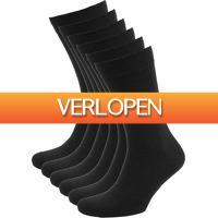 Suitableshop: 6 x Suitable Bio katoen sokken