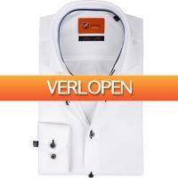 Suitableshop: Suitable Overhemd wit D81-18