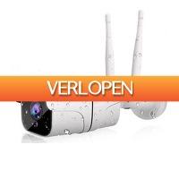 Koopjedeal.nl 2: Waterdichte Smart HD beveiligingscamera