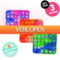 voorHAAR.nl: 3 x POP IT fidget toy