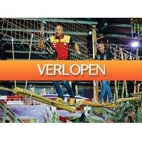 Tripper Tickets: 1,5 uur klimmen in het Coronel Adventure Indoor Klimbos