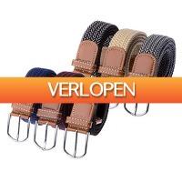 Voordeelvanger.nl 2: 3-pack comfortabele elastische riemen