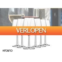 DealDonkey.com 3: Krosno Pure Collection rode wijnglazen