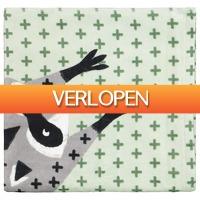 HEMA.nl: Handdoek - velours - 70 x 140 - wasbeer