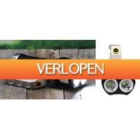 Voordeeldrogisterij.nl: Premium zaklantaarn Met 3 LED's
