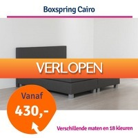1dagactie.nl: Boxspring Cairo