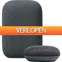 Coolblue.nl 1: Google Nest Audio Charcoal + Nest Mini Charcoal