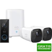Bekijk de deal van Coolblue.nl 1: Eufy by Anker Video Doorbell  + 2 x Eufycam 2