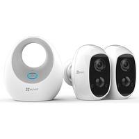 Bekijk de deal van iBOOD.com: Ezviz beveiligingskit  Base + 2 x Cam