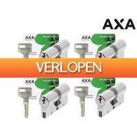iBOOD DIY: 4 x AXA dubbele veiligheidscilinder Xtreme