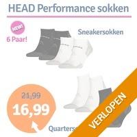 HEAD Performance quarter- of sneakersokken