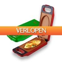 Actie.deals: Multi Cooker dubbelzijdige mini oven en grill