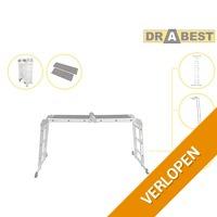 Drabest aluminium multifunctionele ladder