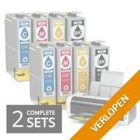 Inktcartridges dubbele sets