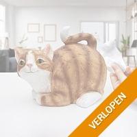 Tissuehouder Kat