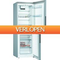 Expert.nl: Bosch koelkast met vriesvak KGV33VLEAS RVS