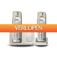Expert.nl: Panasonic dect telefoon KX-TGE212