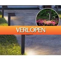Voordeelvanger.nl: Set solar tuinlantaarns