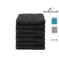 Bekijk de deal van iBOOD Home & Living: 7 x Seashell Luxor handdoek