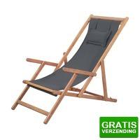 Bekijk de deal van VidaXL.nl: vidaXL strandstoel