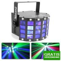 Bekijk de deal van MaxiAxi.com: BeamZ LED Butterfly met LED stroboscoop 2-in-1 lichteffect