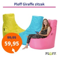 Bekijk de deal van 1dagactie.nl: Ploff Giraffe (verschillende
