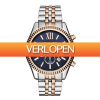 Watch2day.nl: Michael Kors Lexington Chronograph MK8412