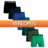 Plutosport offer: Muchachomalo Solid Boxers Heren (7-pack)
