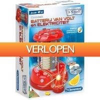 Plein.nl: Clementoni Science & Game Batterij van Volt en Elektriciteit
