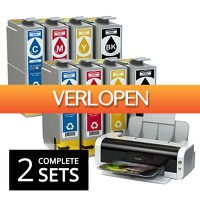 One Day Only: Inktcartridges dubbele sets