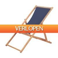 VidaXL.nl: vidaXL strandstoel inklapbaar