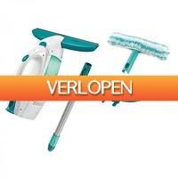 Blokker: Leifheit raamzuiger Dry&Clean All-in-one-set