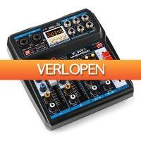 MaxiAxi.com: Vonyx VMM-P500 mixer 4-kanaals met Bluetooth
