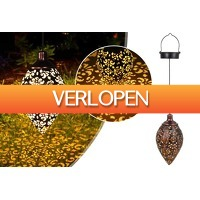 VoucherVandaag.nl 2: Oosterse solar tuinlamp