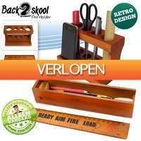 voorHEM.nl: Back2Skool pennenhouder en -bakje
