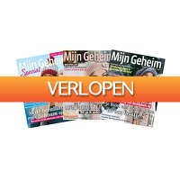Tripper Producten: Abonnement op tijdschrift Mijn Geheim + Specials