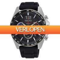 Watch2day.nl: Seiko Chronograph herenhorloge SSB347P1