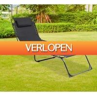 Koopjedeal.nl 3: Ligbed met gratis hoofdkussen