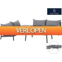 iBOOD Home & Living: Feel Home aluminium loungeset Capri