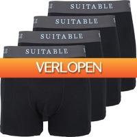 Suitableshop: Suitable Bamboe boxershorts 4-pack