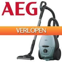 One Day Only: AEG stofzuiger met zak VX82-1-4MB