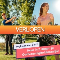 One Day Only: GVB golfcursus