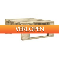 VidaXL.nl: vidaXL Tuinpoef pallet hout